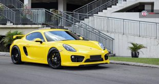 Porsche Cayman GT4 Tuning HRE Classic 300 Felgen 3 310x165 HRE P101 Alu's in Satin Charcoal am BMW M4 F82 Coupe