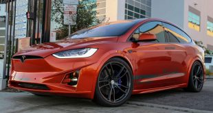Tesla Model X Bodykit Tuning Unplugged Performance 310x165 Tesla Model X mit Bodykit von Unplugged Performance