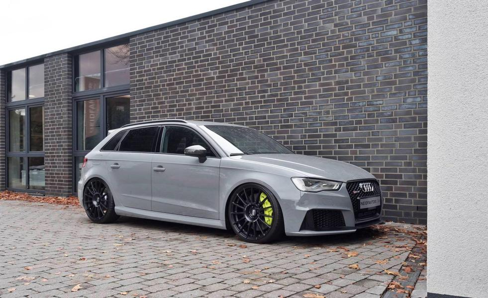 The RS3 Clubsport Project Neidfaktor Acid Green Audi RS3 1 The RS3 Clubsport Project   Neidfaktor veredelt den Audi RS3