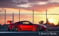 Tuning 2017 Liberty Walk Nissan GT R 15 190x117 Auto von Darth Vader gefunden! Nissan GT R by LB Works