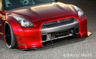 Tuning 2017 Liberty Walk Nissan GT R 5 190x117 Auto von Darth Vader gefunden! Nissan GT R by LB Works