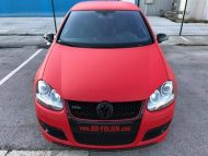 Ultra Rot X.matt Folierung VW Golf MK6 Tuning 12 190x143 VW Golf GTI in Ultra Rot X.matt by BB Folien Bele Boštjan