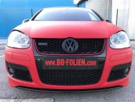 Ultra Rot X.matt Folierung VW Golf MK6 Tuning 17 190x143 VW Golf GTI in Ultra Rot X.matt by BB Folien Bele Boštjan