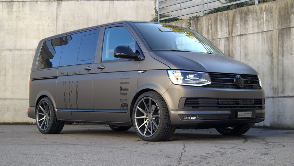 discreet transporter vw multivan t6 on 20 inches by magazine. Black Bedroom Furniture Sets. Home Design Ideas
