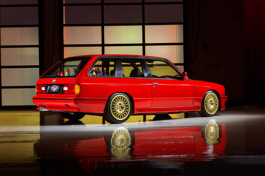 30 Jahre Zu Sp 228 T Weltpr 228 Miere Bmw E30 M3 V8 Touring