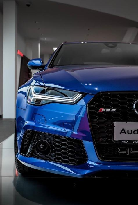 Widebody Audi RS6 C7 Avant2 Blauer Widebody Audi RS6 C7 Avant mit Black Eyes by tuningblog