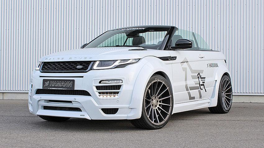 hamann range rover evoque cabrio by ds automobile. Black Bedroom Furniture Sets. Home Design Ideas