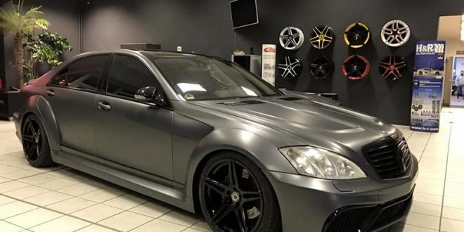 Widebody Mercedes S600 V12 Biturbo By Fl Exclusive Carstyling