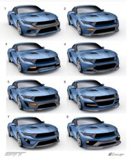Zero to 60 Designs Ford Mustang GTT Tuning 15 190x234 By Zero to 60 Designs  > Ford Mustang GTT (Gran Turismo Tribute)