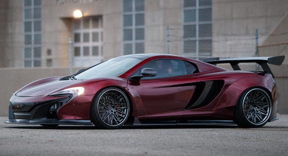 2016 Mclaren 650s Liberty Walk Tuning Widebody 11 Kit Rotiform