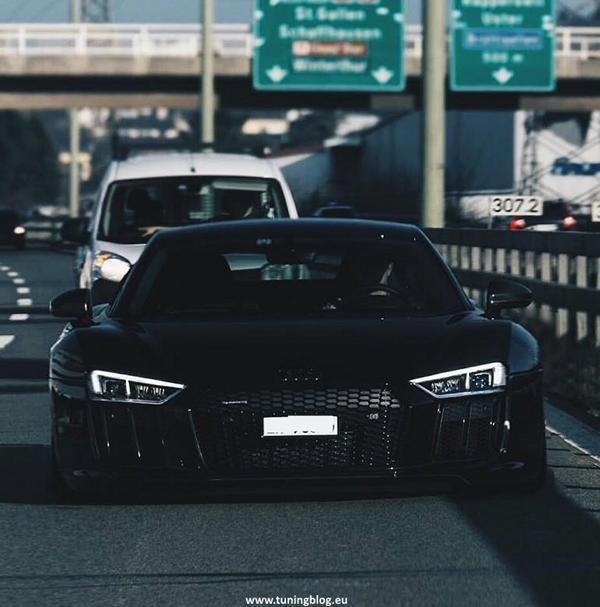 2017 Audi R8 Coupe Widebody Tuning Rendering: Widebody Audi R8 Coupe by tuningblog.eu
