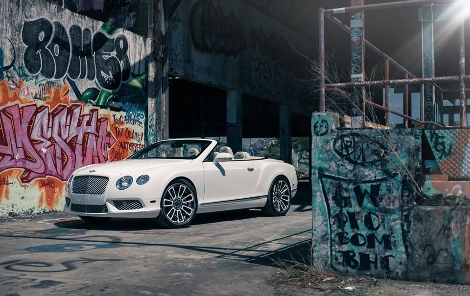 22 inches Vellano VKG rims Bentley Continental GT tuning 2 22 inches Vellano VKG rims on the Bentley Continental GT