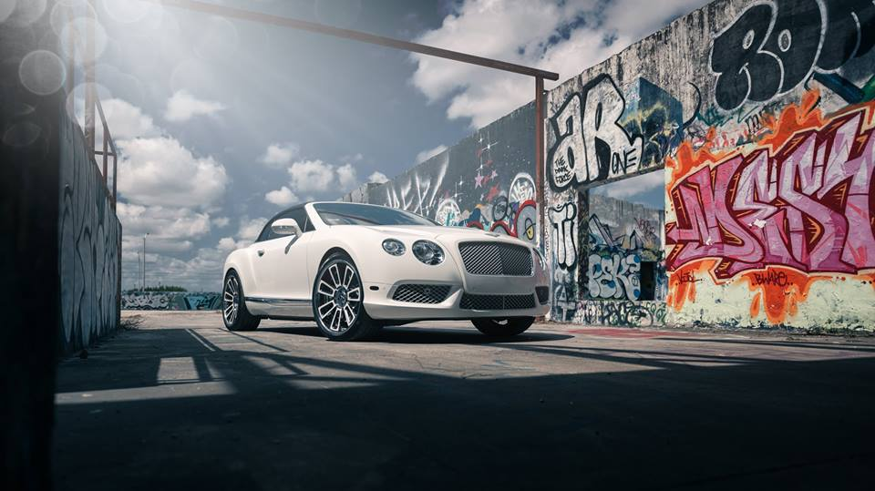 22 inches Vellano VKG rims Bentley Continental GT tuning 4 22 inches Vellano VKG rims on the Bentley Continental GT