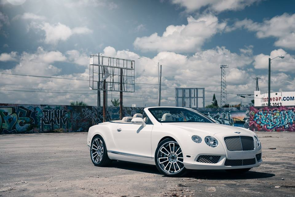 22 inches Vellano VKG rims Bentley Continental GT tuning 5 22 inches Vellano VKG rims on the Bentley Continental GT