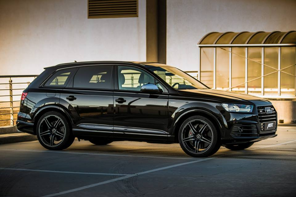 ABT Sportsline Audi SQ7 Tuning 2016 4M 2 ABT Sportsline Audi SQ7 mit 520PS & 970NM