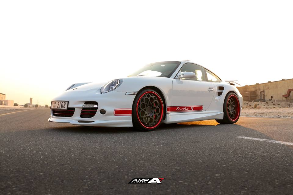 AMP 2020 Felgen am Porsche 997 Turbo Tuning 3 Krasser Style   AMP 2020 Felgen am Porsche 997 Turbo