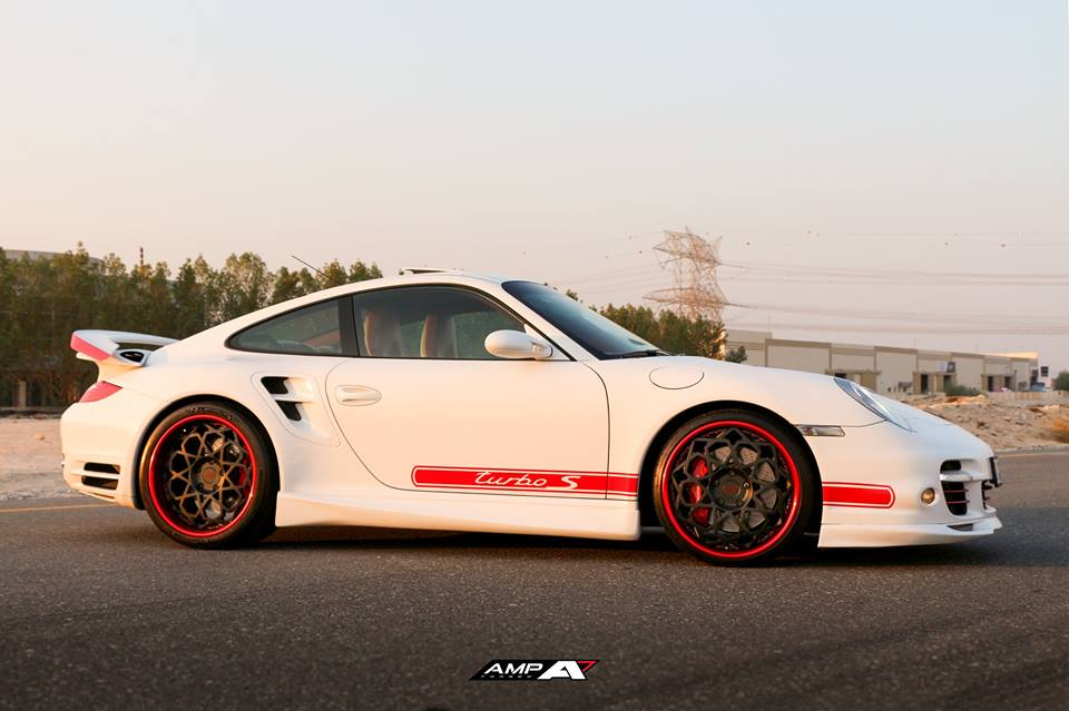 AMP 2020 Felgen am Porsche 997 Turbo Tuning 4 Krasser Style   AMP 2020 Felgen am Porsche 997 Turbo