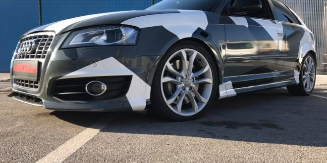 Audi A3 S3 Sportback mit Camouflage-Optik by BB