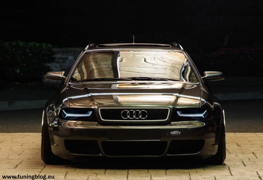 Audi A4 Rs4 B5 Avant Rs6 Headlights Widebody