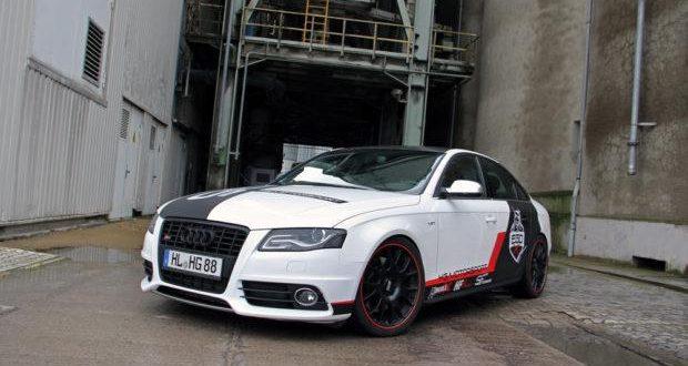 Audi A4 S4 von HG-Motorsport mit Bilstein B16 Fahrwerk