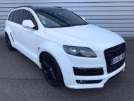 Audi Q7 4L S Line JE Design Widebody Kit Tuning 1 190x143 Audi Q7 4L S Line mit JE Design Widebody Kit in Mattweiß