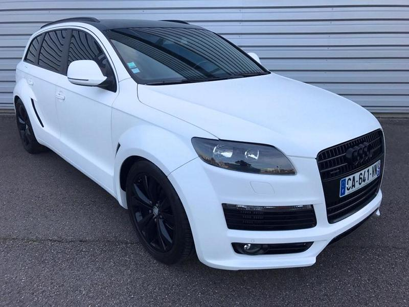 Audi Q7 4L S Line JE Design Widebody Kit Tuning 1 Audi Q7 4L S Line mit JE Design Widebody Kit in Mattweiß