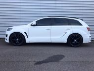 Audi Q7 4L S Line JE Design Widebody Kit Tuning 2 190x143 Audi Q7 4L S Line mit JE Design Widebody Kit in Mattweiß