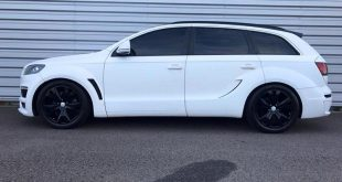 Audi Q7 4L S Line JE Design Widebody Kit Tuning 4 310x165 Audi Q7 4L S Line mit JE Design Widebody Kit in Mattweiß