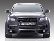 Audi Q7 4L S Line JE Design Widebody Kit Tuning 7 190x143 Audi Q7 4L S Line mit JE Design Widebody Kit in Mattweiß