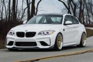 BBS RT88 iND BMW M2 F87 Coupe Tuning 3 190x127 Schicke 19 Zoll BBS RT88 Felgen am iND BMW M2 F87 Coupe
