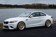 BBS RT88 iND BMW M2 F87 Coupe Tuning 4 190x127 Schicke 19 Zoll BBS RT88 Felgen am iND BMW M2 F87 Coupe