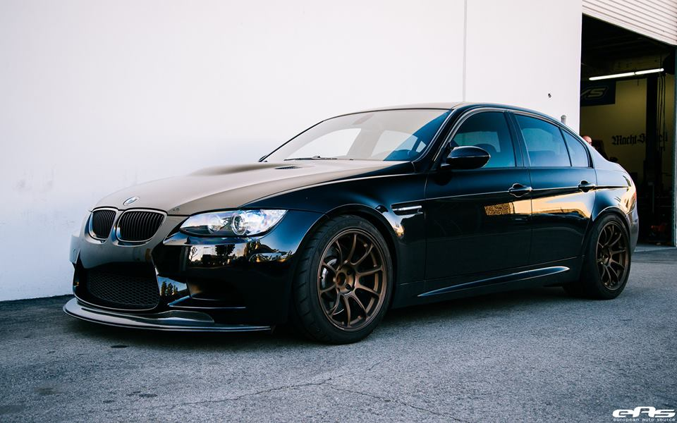 dezenter bmw e90 m3 auf volk racing ze40 felgen by eas. Black Bedroom Furniture Sets. Home Design Ideas