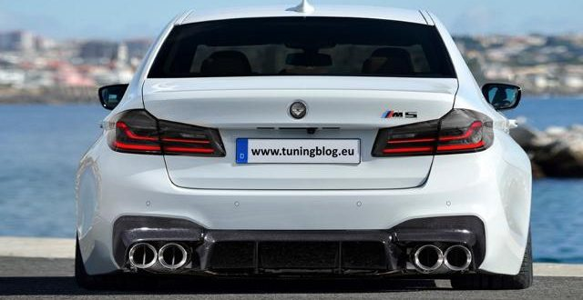 2016 Bmw G30 F90 M5 With Wide Body By Tuningblog Eu