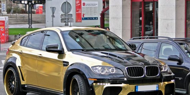 BMW Hamann Tycoon Supreme Evo E71 X6M in Gold