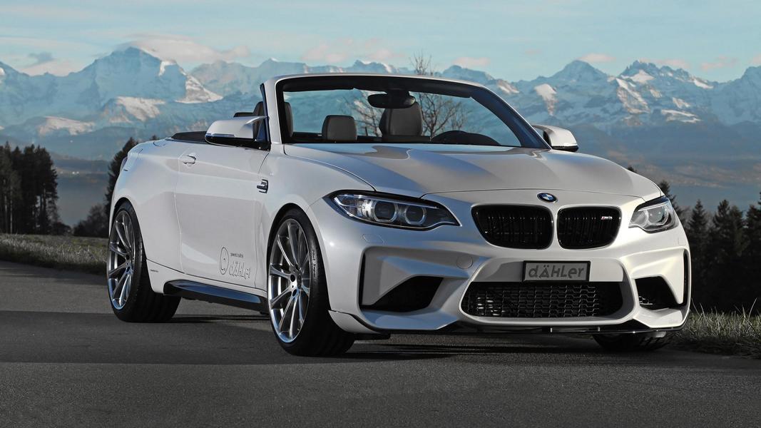 BMW M2 F87 F23 Cabrio Dähler Tuning 17 425PS & 610NM im BMW F23 Cabrio   Dähler macht's möglich