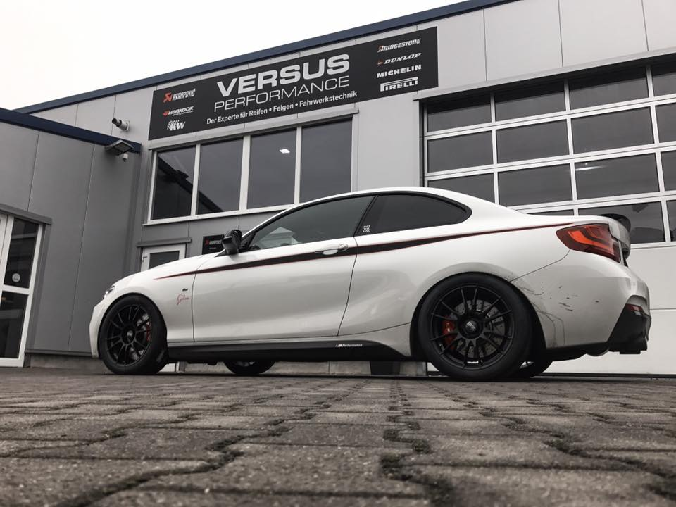 BMW M235i Clubsport Umbau Chiptuning 405PS 1 BMW M235i Clubsport Umbau mit 405PS by Versus Performance