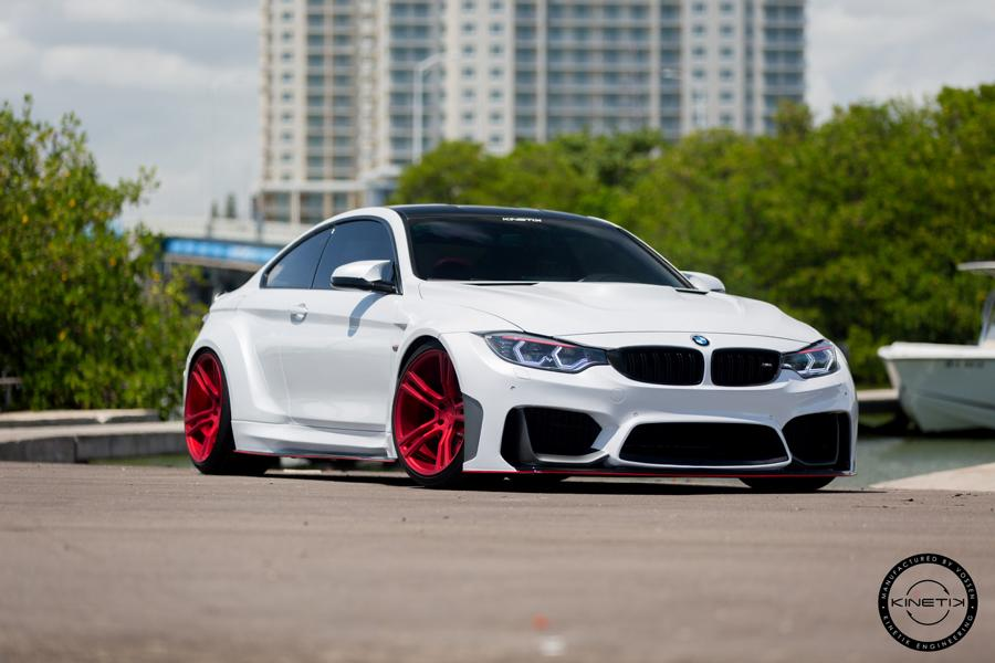 Traumhaft Kinetik Engineering Widebody Bmw M4 F82 Coupe