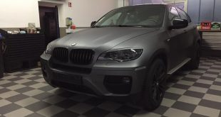 BMW X6 E71 SUV Folierung Holzkohle matt Metallic 9 310x165 BMW X6 E71 in Holzkohle matt Metallic by Car Wrapping Kuhnert