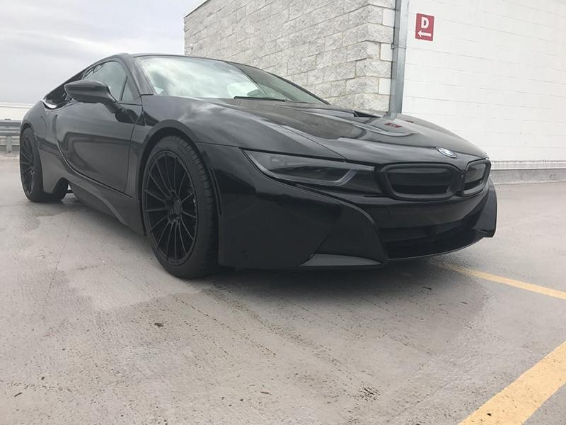 Complete Black Bmw I8 On 20 Inch Zito Zs15 Wheels Tuningblog Eu