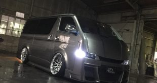 Bodykit Toyota Hiace 2000 2016 Bus Airride 1 310x165 Extrem anders   Toyota 200 Hiace vom Tuner Kuhl Racing