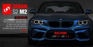 Dinan S2 Package am BMW M2 F87 Coupe 190x97 Mehr Power   Dinan S2 Package am BMW M2 F87 Coupe