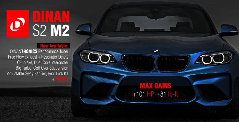 Dinan S2 Package am BMW M2 F87 Coupe Mehr Power   Dinan S2 Package am BMW M2 F87 Coupe