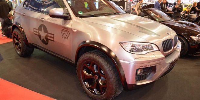 Für's Gelände? Manhart MHX6 Dirt Edition BMW X6 xDrive50i