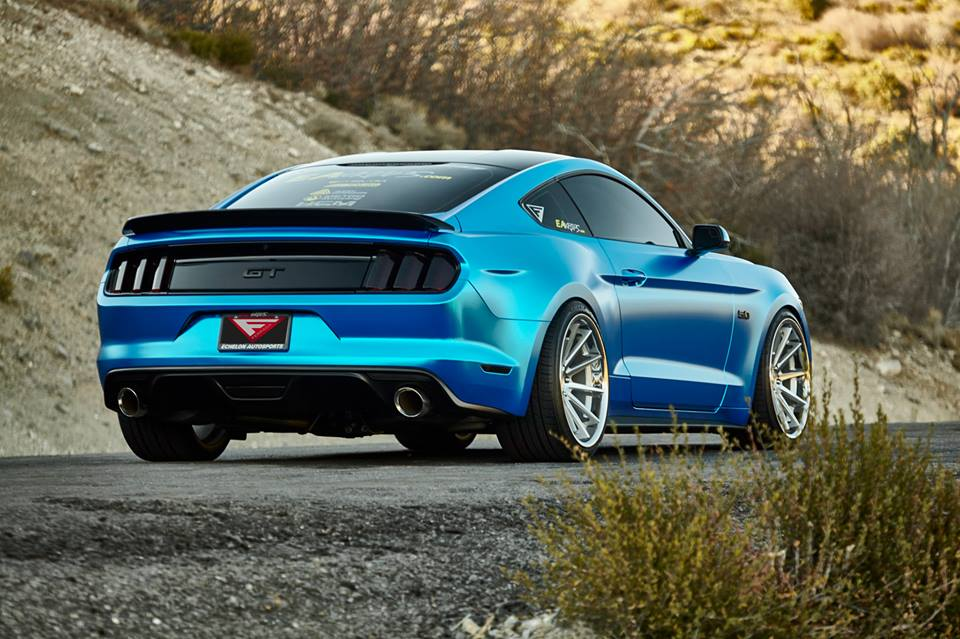 Beefy Ford Mustang Gt On 20 Inch Ferrada Wheels Aluminum S