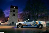 Frozen BMW E46 Widebody Die Eisk%C3%B6nigin 2 1 190x127 Frozen Themed BMW E46 Cabrio (Die Eiskönigin) + Video!