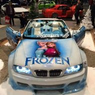 Frozen BMW E46 Widebody Die Eisk%C3%B6nigin 2 190x190 Frozen Themed BMW E46 Cabrio (Die Eiskönigin) + Video!