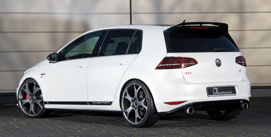 vw golf vii gti clubsport s mit 480ps von b b. Black Bedroom Furniture Sets. Home Design Ideas