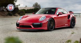 HRE R103 Rims Porsche 911 991 Turbo S Tuning 310x165 HRE R103 Rims on the red Porsche 911 (991) Turbo S by R1