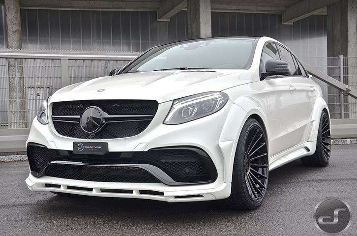 Mega Chic Hamann Widebody Mercedes Gle C292 By Ds