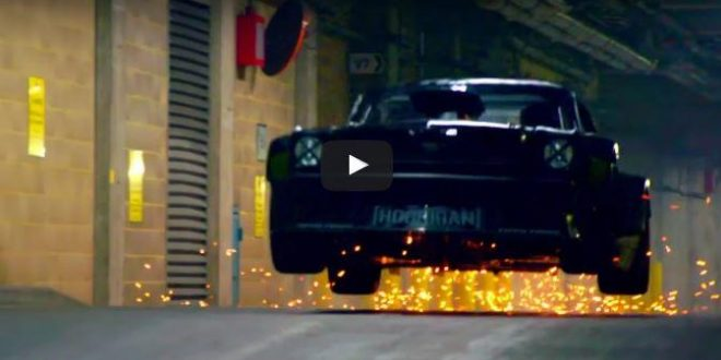 Video: Ken Block in London – Action im Hoonicorn Mustang RTR